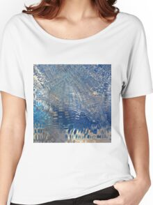freeze glass with trees Women's Relaxed Fit T-Shirt