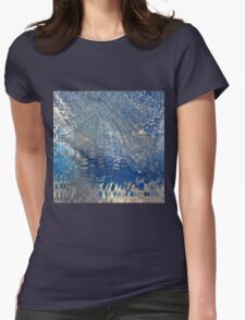 freeze glass with trees Womens T-Shirt