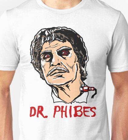 Mani Yack Dr Phibes 2 Unisex T-Shirt
