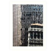 San Francisco reflection 52 Art Print