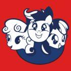 Cutie Mark Crusaders Logo (MLP:FiM) by pixel-pie-pro