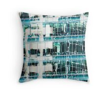 San Francisco Reflection 55 Throw Pillow