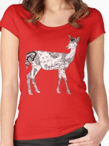 My Wild Side  Women's Fitted Scoop T-Shirt