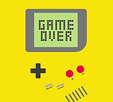 Game Over - Yellow by fyzzed