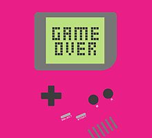 Game Over - Pink by fyzzed