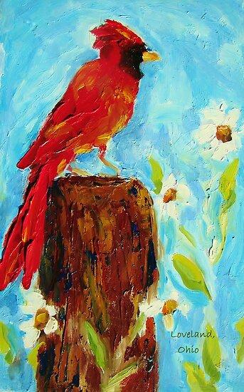 Loveland Cardinal  by KAT Griffin