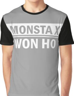 MONSTA X WON HO Graphic T-Shirt