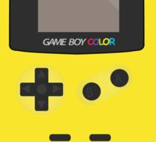 Retro Video Game Boy Console Sticker