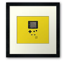 Retro Video Game Boy Console Framed Print