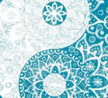 Yin & Yang Mandala Sticker