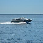 HYDROFOIL EN ROUTE TO CAPRI by cammisacam