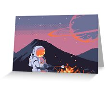 Stranded Astronaut  Greeting Card