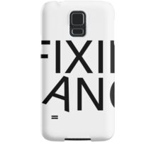 Fixie gang black Samsung Galaxy Case/Skin