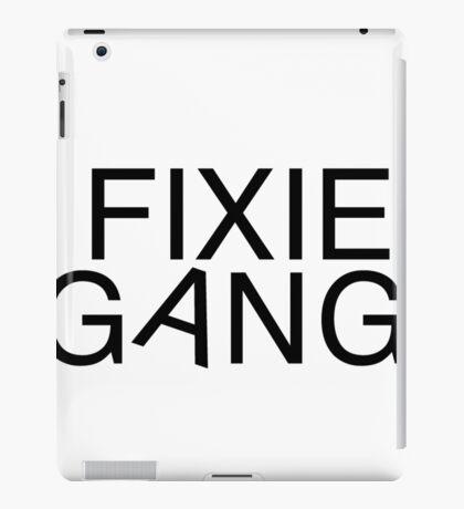 Fixie gang black iPad Case/Skin
