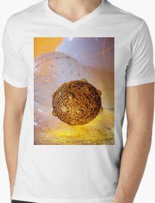 Greetings Earthling Mens V-Neck T-Shirt