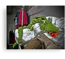 Slithering Dragon Canvas Print