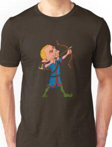 elven archer.  Unisex T-Shirt