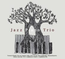 Tetsuro Hoshii Jazz Piano Trio at Lily Pad on August 26th by Tetsuro Hoshii