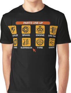 Gran Turismo 2 Tune Menu Graphic T-Shirt