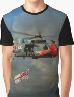 Royal Navy Search and Rescue (End of an Era) Graphic T-Shirt