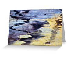 Wood Grain Stains 1 Greeting Card