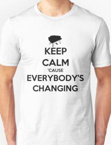 Keep Calm 'Cause Everybody's Changing Shirt T-Shirt