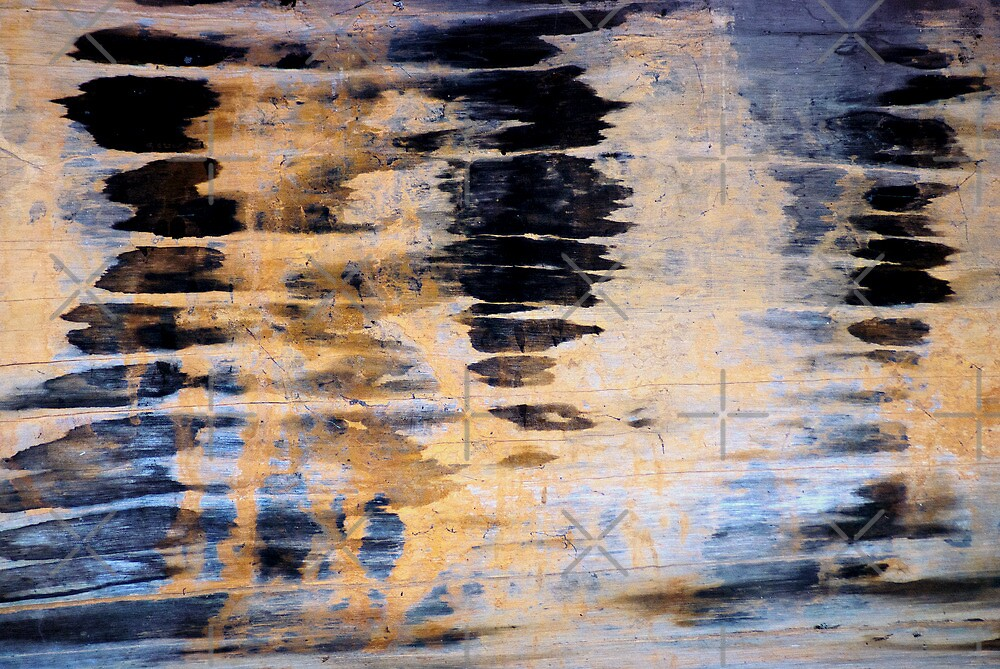 Wood Grain Stains 3 by Scott  Cook©