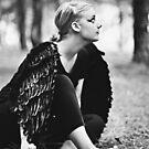 Blackbird XIV by Trish Woodford