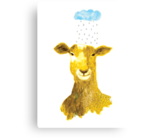 The Goat and the Rain Canvas Print