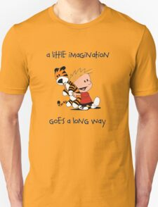 Imagination - Calvin and Hobbes T-Shirt