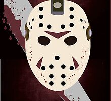 Friday the 13th Minimalist by pribellafronte