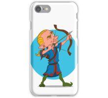 elven archer. iPhone Case/Skin