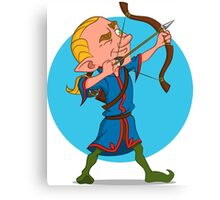 elven archer. Canvas Print