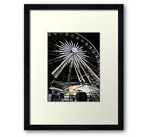 Romantic Wheel Framed Print