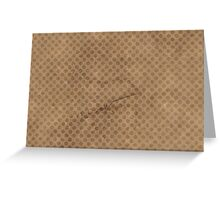 Coffee Paper Greeting Card