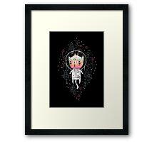 Space cat! Framed Print