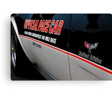 1978 Indy Pace Car Canvas Print