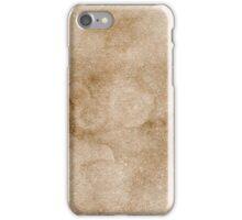 Coffee Paper iPhone Case/Skin