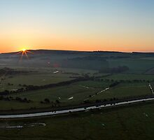 Cuckmere Valley Sunrise by TimKing