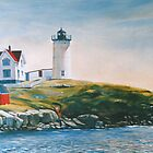 New England Lighthouse by wonder-webb