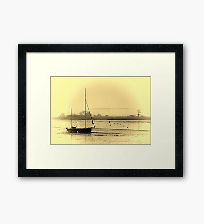 Misty Topsham Framed Print