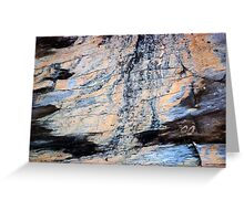 Wood Grain Stains 7 Greeting Card