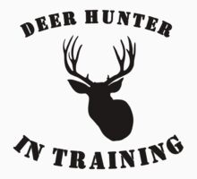Deer Hunter In Training One Piece - Short Sleeve