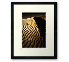 The Sand Dune Framed Print