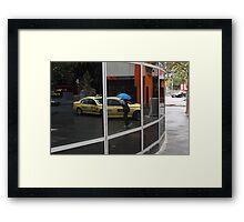 Blue Umbrella Framed Print