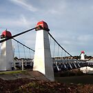 Wollaston Suspension Bridge by John Sharp