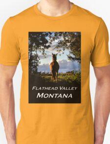 Equine, Evergreen Montana T-Shirt