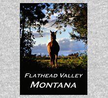 Equine, Evergreen Montana Unisex T-Shirt