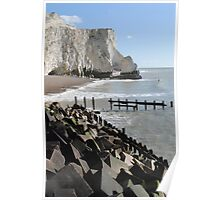 Seaford Beach - UK Poster