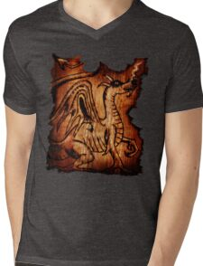 The Dragon Mens V-Neck T-Shirt